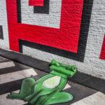 Oakoak // La grenouille verte © Eric Danhier