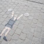 Oakoak // L'homme aux haltères © Eric Danhier