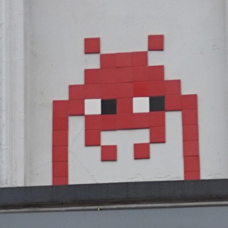 Invader// Space invader