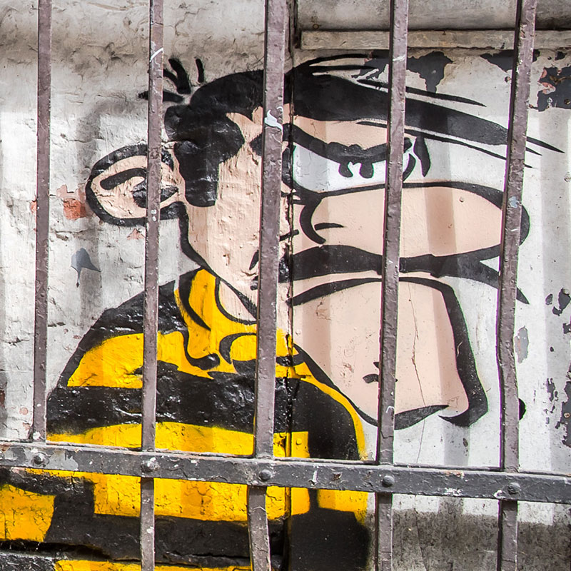 Oakoak// Les daltons en prison