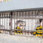 Oakoak // Les Daltons en prison © Eric Danhier