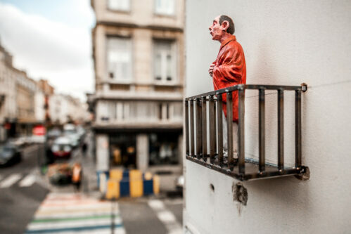 Isaac Cordal // Cement Eclipses