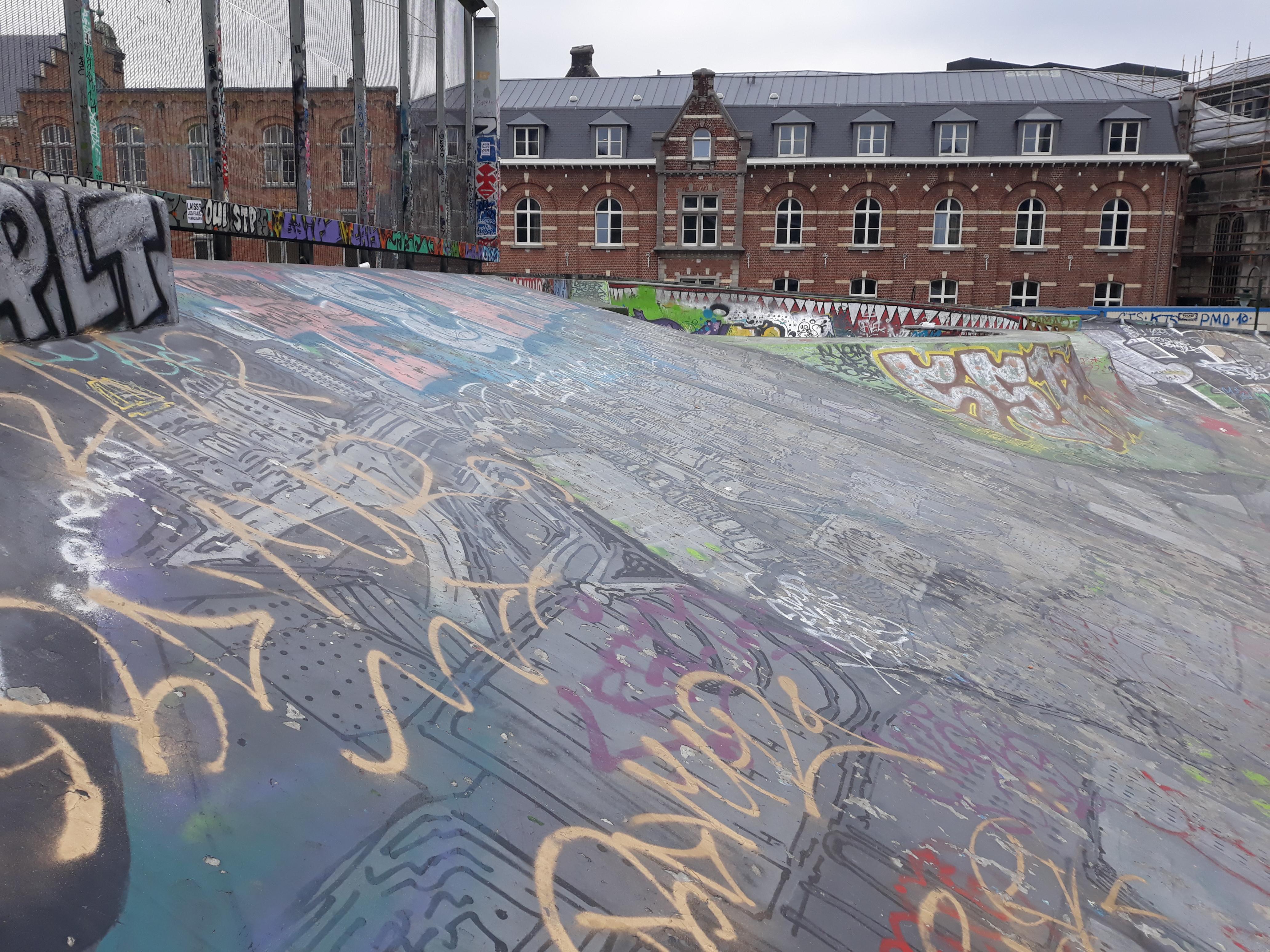 Skatepark place de la chapell