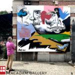 #1 Arnaud Kool //  Freedom Wall ©MACADAM