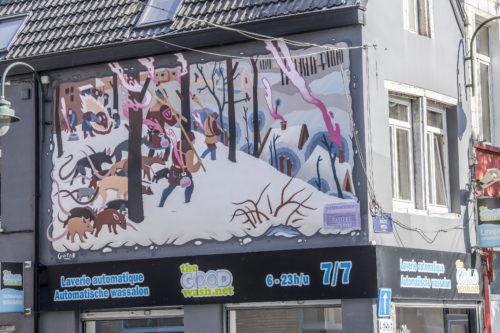 Guillaume Desmarets // Chasseurs dans la neige