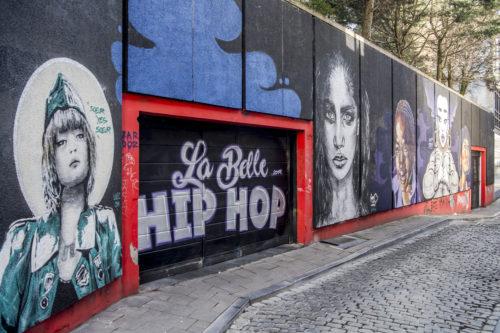 LaetiCNN199, Nadia, Michelle Shiyu Chen, Chelove // La Belle Hip Hop