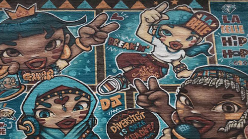 La Belle Hip Hop // Shiro